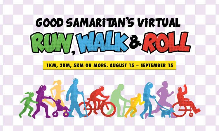 Good Samaritan Virtual Run, Walk & Roll