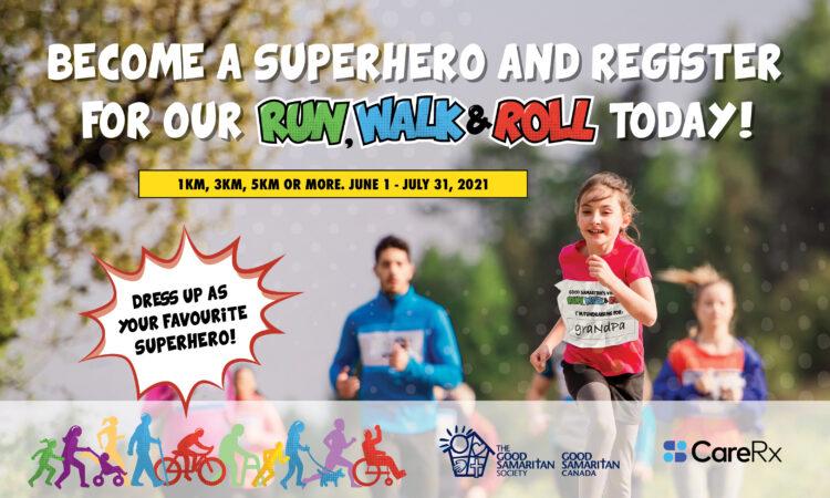 Good Samaritan 2nd Annual Virtual Run, Walk & Roll